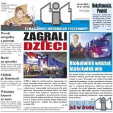 TIT - Tomaszowski Informator Tygodniowy nr 21 (1192) z 24 Maja 2013r.