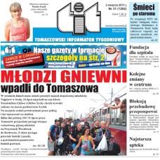 TIT - Tomaszowski Informator Tygodniowy nr 31 (1202) z 2 sierpnia 2013r.