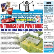 TIT - Tomaszowski Informator Tygodniowy nr 33 (1204) z 16 sierpnia 2013r.