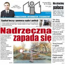 TIT - Tomaszowski Informator Tygodniowy nr 11 (1234) z 14 marca 2014r.