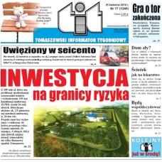 TIT - Tomaszowski Informator Tygodniowy nr 17 (1240) z 25 kwiecień 2014r.