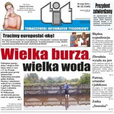 TIT - Tomaszowski Informator Tygodniowy nr 22 (1245) z 30 maja 2014r.