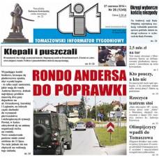 TIT - Tomaszowski Informator Tygodniowy nr 26 (1249) z 27 czerwca 2014r.