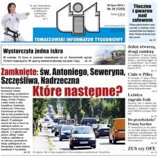 TIT - Tomaszowski Informator Tygodniowy nr 30 (1253) z 25 lipca 2014r.