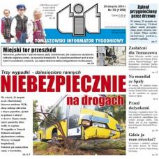 TIT - Tomaszowski Informator Tygodniowy nr 35 (1258) z 29 sierpnia 2014r.