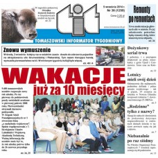 TIT - Tomaszowski Informator Tygodniowy nr 36 (1259) z 5 września 2014r.