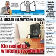 TIT - Tomaszowski Informator Tygodniowy nr 47 (1270) z 21 listopada 2014r.