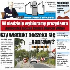 TIT - Tomaszowski Informator Tygodniowy nr 48 (1271) z 28 listopada 2014r.