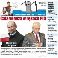 TIT - Tomaszowski Informator Tygodniowy nr 49 (1272) z 5 grudnia 2014r.