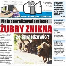 TIT - Tomaszowski Informator Tygodniowy nr 50 (1273) z 12 grudnia 2014r.