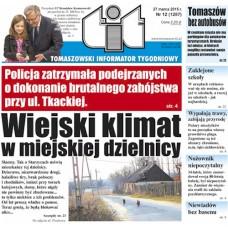 TIT - Tomaszowski Informator Tygodniowy nr 12 (1287) z 27 marca 2015r.