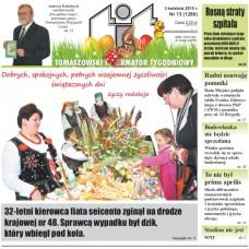 TIT - Tomaszowski Informator Tygodniowy nr 13 (1288) z 3 kwietnia 2015r.