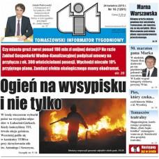 TIT - Tomaszowski Informator Tygodniowy nr 16 (1291) z 24 kwietnia 2015r.