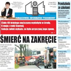 TIT - Tomaszowski Informator Tygodniowy nr 18 (1293) z 8 maja 2015r.