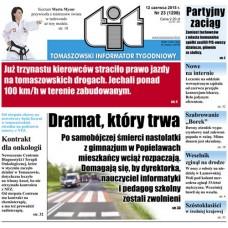 TIT - Tomaszowski Informator Tygodniowy nr 23 (1298) z 12 czerwca 2015r.