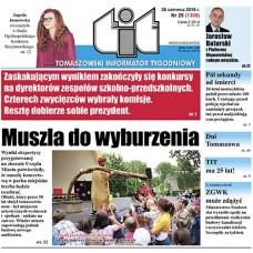 TIT - Tomaszowski Informator Tygodniowy nr 25 (1300) z 26 czerwca 2015r.