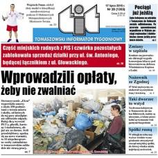 TIT - Tomaszowski Informator Tygodniowy nr 28 (1303) z 17 lipca 2015r.