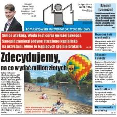 TIT - Tomaszowski Informator Tygodniowy nr 29 (1304) z 24 lipca 2015r.