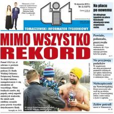 TIT - Tomaszowski Informator Tygodniowy nr 2 (1277) z 16 stycznia 2015r.