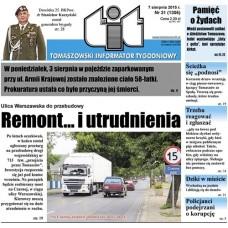 TIT - Tomaszowski Informator Tygodniowy nr 31 (1306) z 7 sierpnia 2015r.