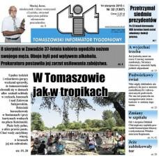 TIT - Tomaszowski Informator Tygodniowy nr 32 (1307) z 14 sierpnia 2015r.
