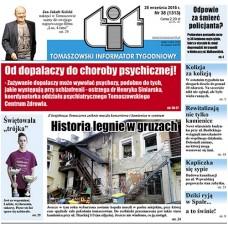 TIT - Tomaszowski Informator Tygodniowy nr 38 (1313) z 25 września 2015r.