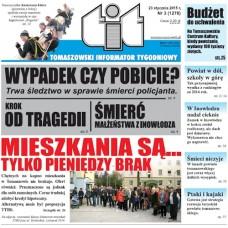 TIT - Tomaszowski Informator Tygodniowy nr 3 (1278) z 23 stycznia 2015r.
