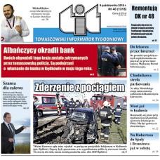 TIT - Tomaszowski Informator Tygodniowy nr 40 (1315) z 9 października 2015r.