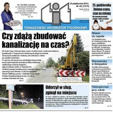 TIT - Tomaszowski Informator Tygodniowy nr 42 (1317) z 23 października 2015r.