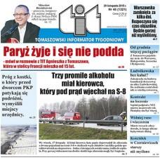 TIT - Tomaszowski Informator Tygodniowy nr 46 (1321) z 20 listopada 2015r.