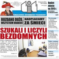 TIT - Tomaszowski Informator Tygodniowy nr 4 (1279) z 30 stycznia 2015r.
