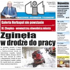 TIT - Tomaszowski Informator Tygodniowy nr 6 (1281) z 13 lutego 2015r.