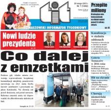 TIT - Tomaszowski Informator Tygodniowy nr 7 (1282) z 20 lutego 2015r.