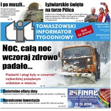 TIT - Tomaszowski Informator Tygodniowy nr 1 (1327) z 8 stycznia 2016r.