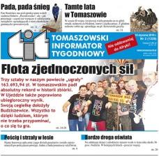 TIT - Tomaszowski Informator Tygodniowy nr 2 (1328) z 15 stycznia 2016r.