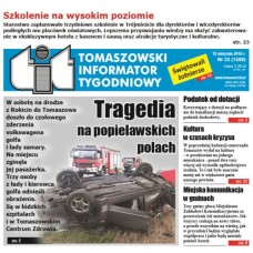 TIT - Tomaszowski Informator Tygodniowy nr 33 (1359) z 19 sierpnia 2016r.