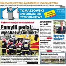 TIT - Tomaszowski Informator Tygodniowy nr 36 (1362) z 9 września 2016r.
