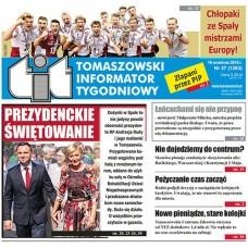 TIT - Tomaszowski Informator Tygodniowy nr 37 (1363) z 16 września 2016r.