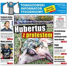 TIT - Tomaszowski Informator Tygodniowy nr 41 (1367) z 14 października 2016r.