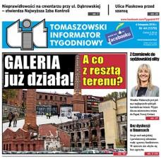 TIT - Tomaszowski Informator Tygodniowy nr 44 (1370) z 4 listopada 2016r.