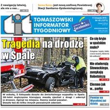 TIT - Tomaszowski Informator Tygodniowy nr 45 (1371) z 11 listopada 2016r.