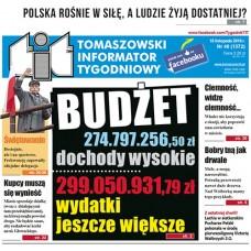 TIT - Tomaszowski Informator Tygodniowy nr 46 (1372) z 18 listopada 2016r.