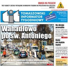 TIT - Tomaszowski Informator Tygodniowy nr 47 (1373) z 25 listopada 2016r.