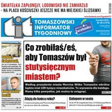 TIT - Tomaszowski Informator Tygodniowy nr 49 (1375) z 9 grudnia 2016r.