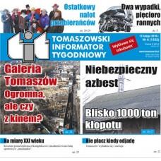 TIT - Tomaszowski Informator Tygodniowy nr 6 (1332) z 12 lutego 2016r.