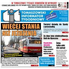 TIT - Tomaszowski Informator Tygodniowy nr 13 (1391) z 31 marca 2017r.