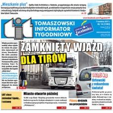 TIT - Tomaszowski Informator Tygodniowy nr 14 (1392) z 7 kwietnia 2017r.