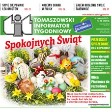 TIT - Tomaszowski Informator Tygodniowy nr 15 (1393) z 14 kwietnia 2017r.