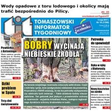 TIT - Tomaszowski Informator Tygodniowy nr 18 (1396) z 5 maja 2017r.