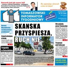 TIT - Tomaszowski Informator Tygodniowy nr 22 (1400) z 2 czerwca 2017r.